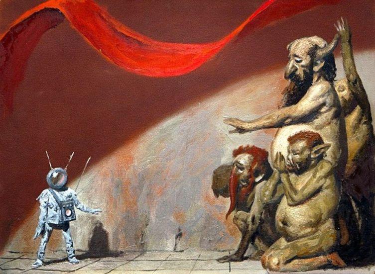 Г. М. Коржев, «Тюрлики и инопланетянин», 1986 г.