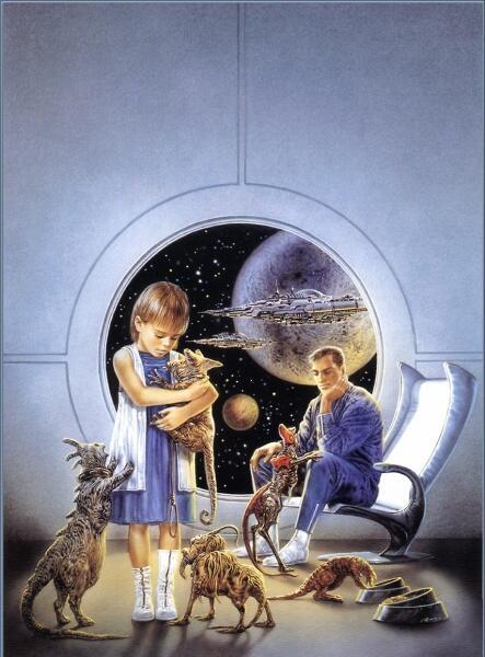 Луис Ройо, «Инопланетные домашние животные»