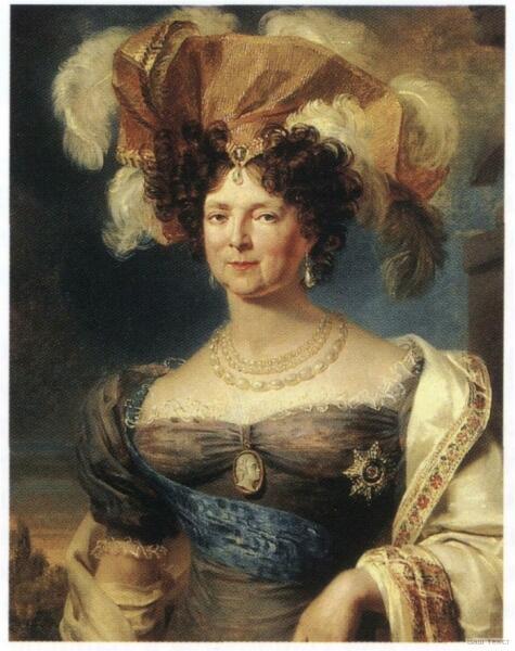 Джордж Доу, «Портрет вдовствующей императрицы Марии Фёдоровны»