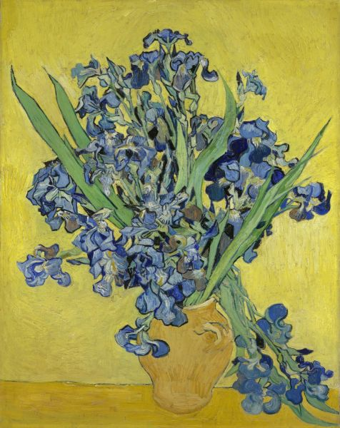Винсент Ван Гог, «Букет ирисов», 1890 г.