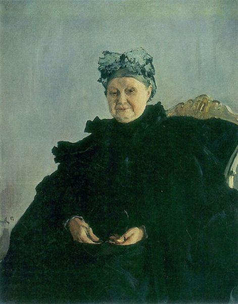 В. А. Серов, «Мария Федоровна Морозова», 1897 г.