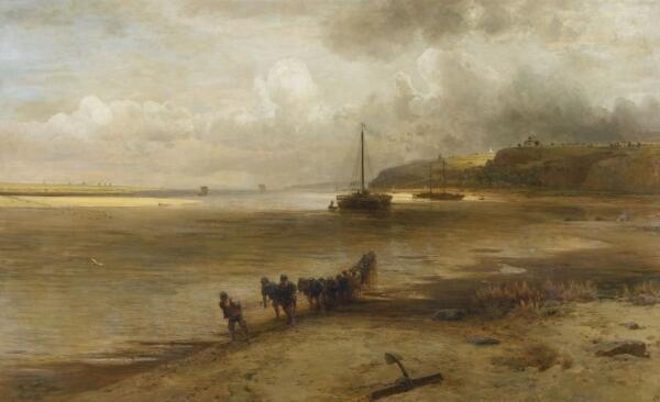 А. К. Саврасов, «Волга в окрестностях Юрьевца», 1870 г.