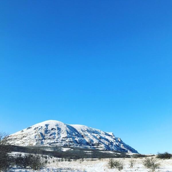 Гора Змейка зимой