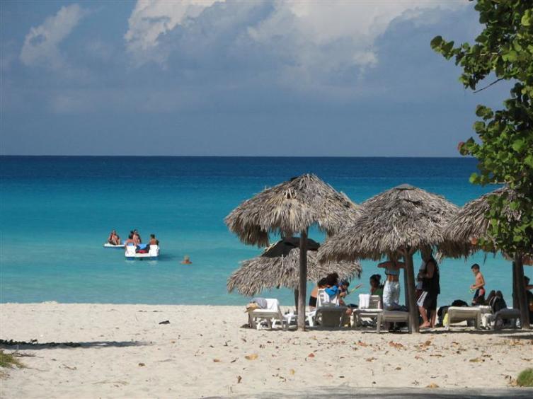Пляж в Варадеро, Куба