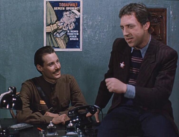 Место встречи изменить нельзя, кадр из фильма