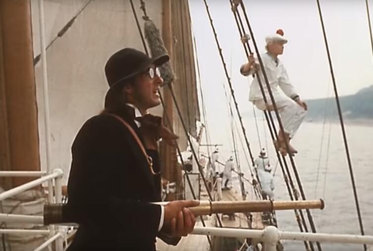 В поисках капитана Гранта, кадр из фильма