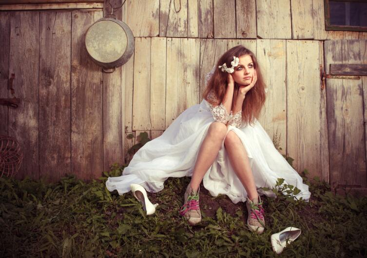 Свадебные кеды – китч или признак вкуса?