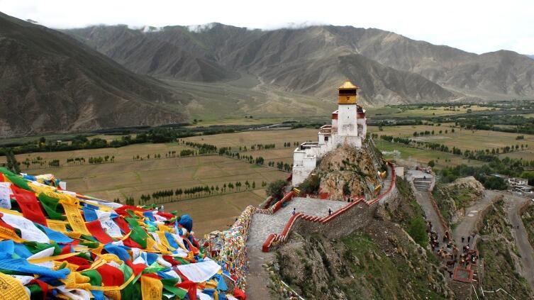 Где-то в горах Тибета скрывается легендарная Шамбала