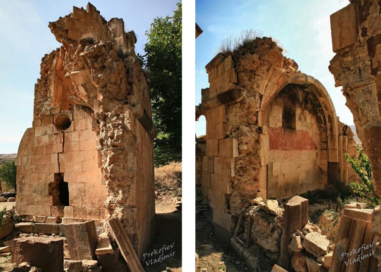 Развалины монастыря Карапет