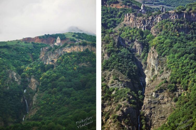 Татевский монастырь с разных ракурсов
