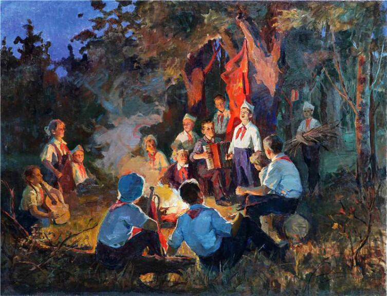Л. К. Гильманшин, «Песня пионера», 1954 г.