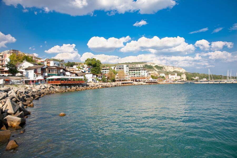 Черное море, г. Балчик, Болгария