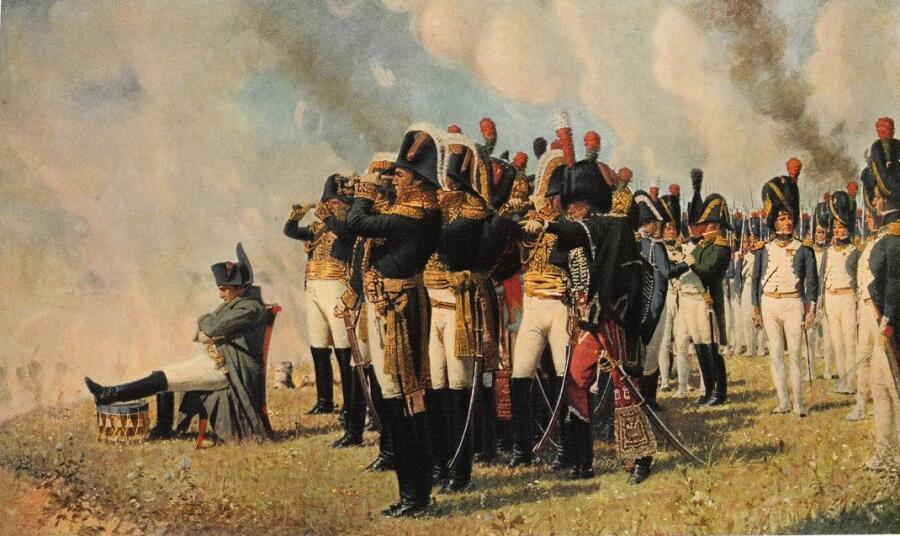 В.В.Верещагин «Наполеон на Бородинских высотах»