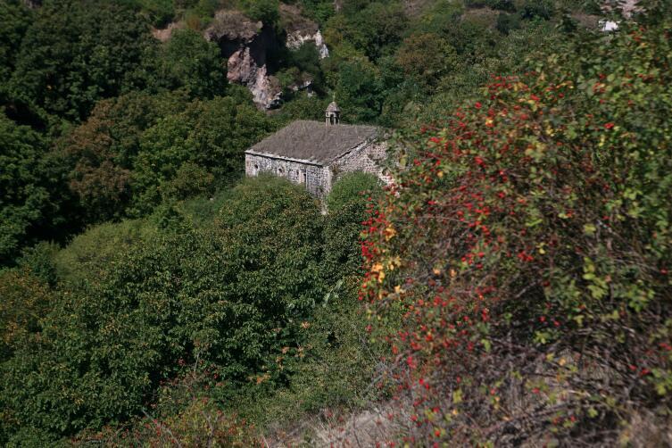 Вид на церковь Хндзореска