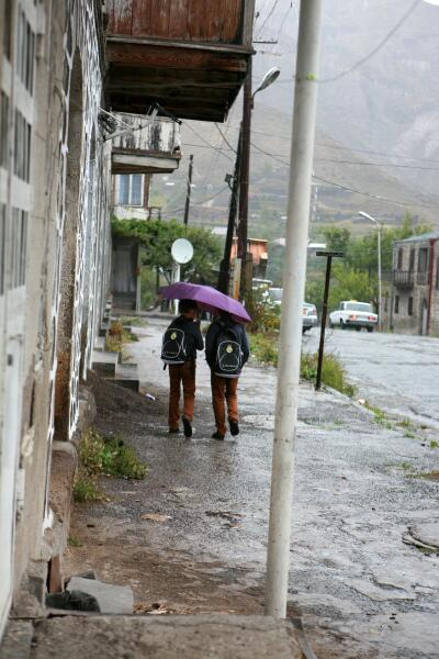 Дождливый денек в Горисе