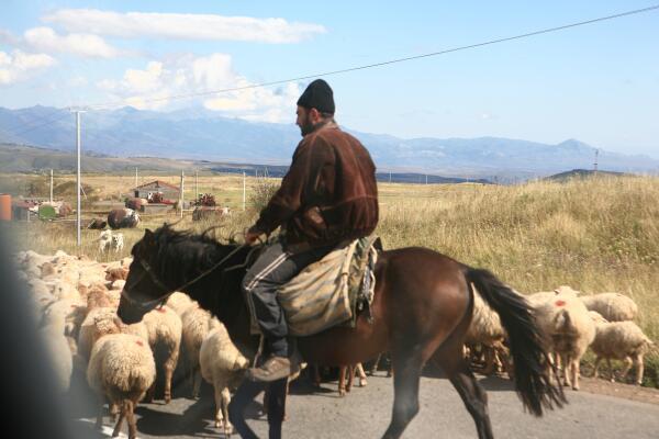 До дороге в Татев