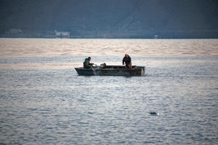 Рыбаки Севана