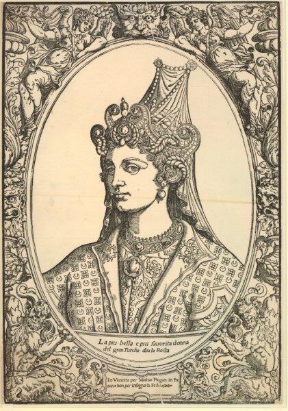 Портрет Роксоланы неизвестного автора (1540—1550)