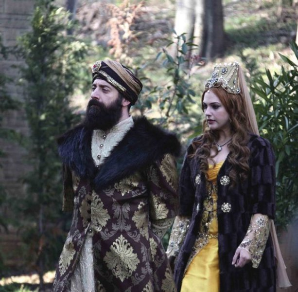 Султан Сулейман и Роксолана