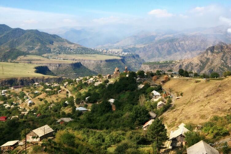 Окрестности монастыря Ахпат
