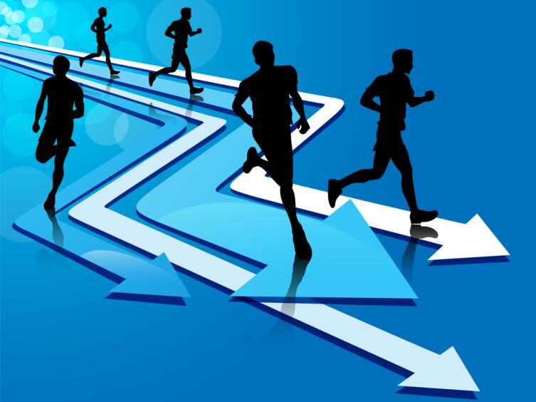 Чтобы оставаться на месте, нужно бежать все быстрее и быстрее