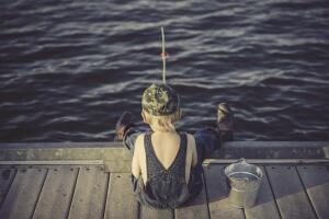 Как первый раз сходить на рыбалку?