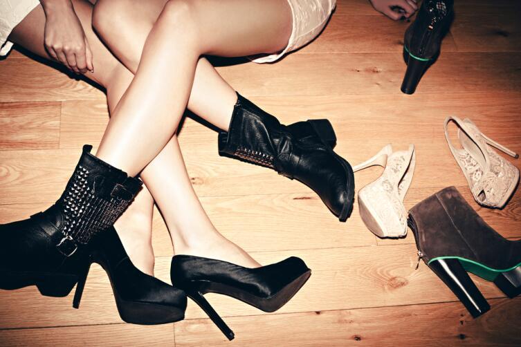 Виды женских туфель на каблуке