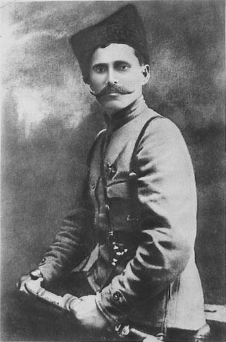 Василий Иванович Чапаев — начдив Красной армии