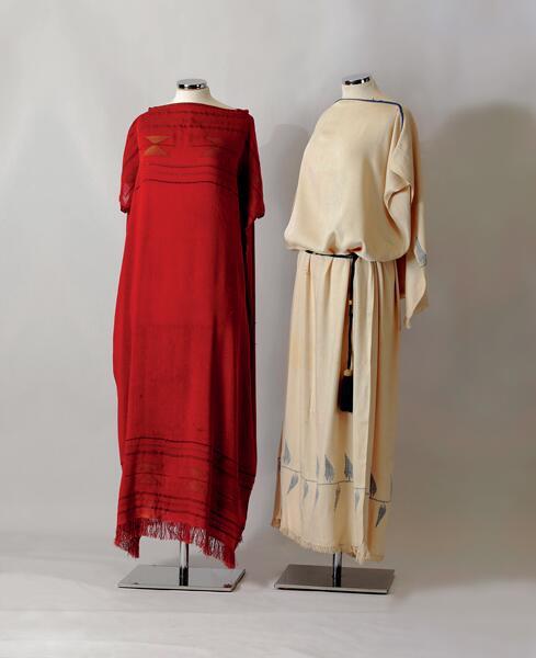 Два платья Пуаре, Париж 1920 г. (Пелопоннеский музей фольклора, Нафплион)