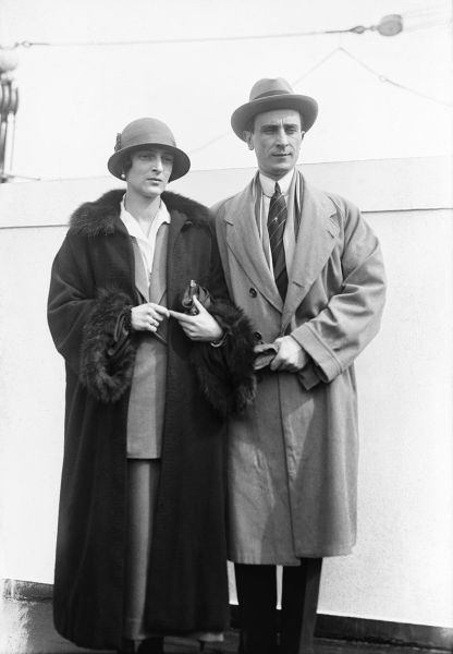 Феликс Юсупов и его жена Ирина, 1930 г.