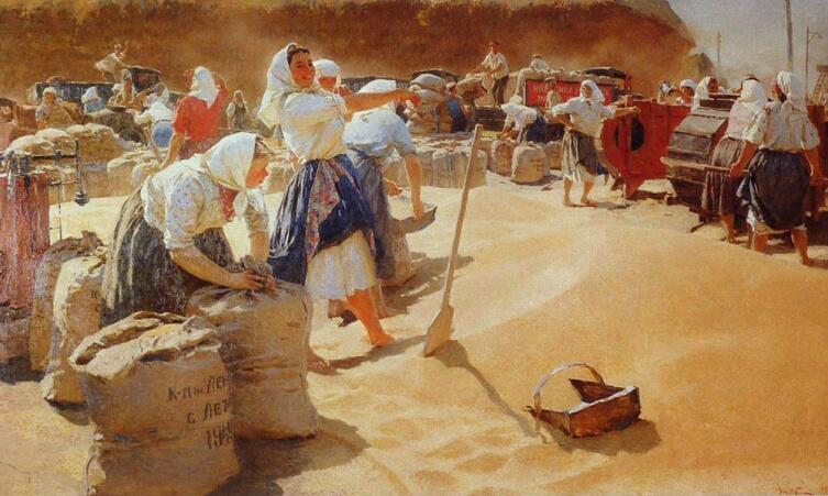 Т. Н. Яблонская, «Хлеб», 1949 г.