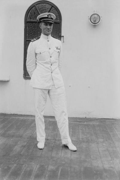 Адмирал Р. Берд в молодости