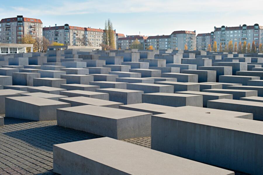 Мемориал памяти жертвам Холокоста в Берлине