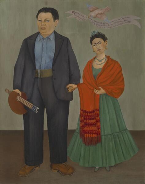 Фрида Кало, «Фрида и Диего Ривера», 1931 г.