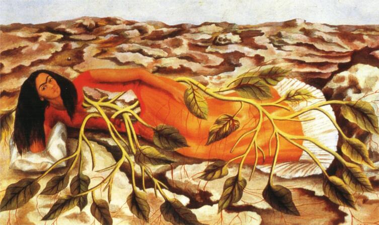 Фрида Кало, «Корни», 1943 г.
