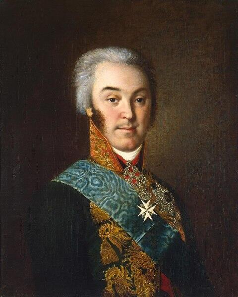 Н. И. Аргунов, «Портрет Николая Петровича Шереметева», 1801-1803 гг.