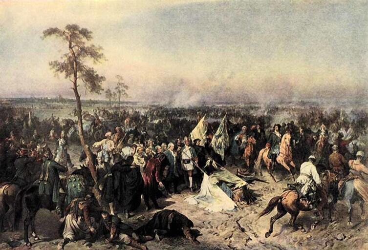 А. Е. Коцебу, «Полтавская победа»