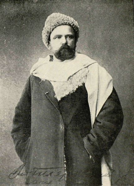 В. А. Гиляровский в 1880-х годах