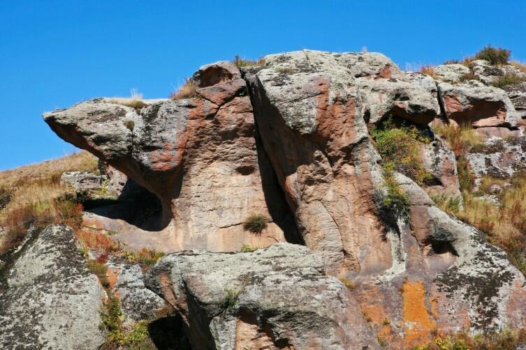 Арчиванк, окрестные причудливые скалы