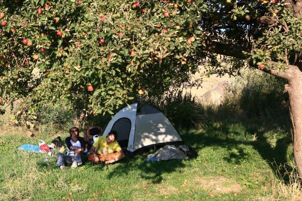 Семейный бивуак в Мармашене