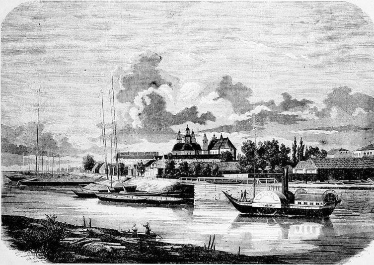 Пинск в 1863 году