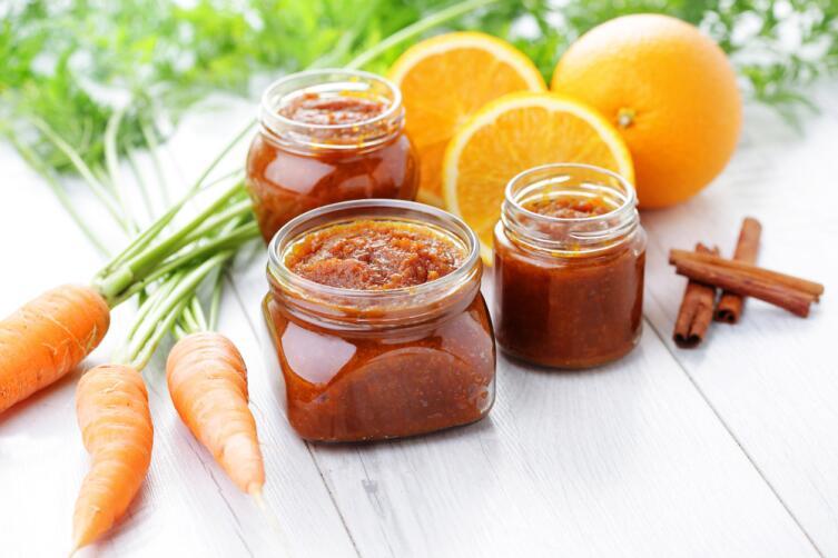 Для аромата можно добавить в морковное варенье апельсин и корицу