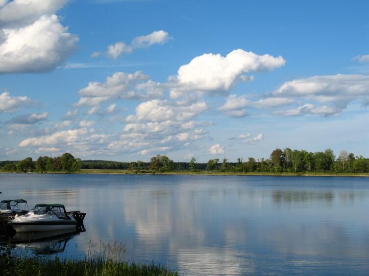 Озеро Селигер. Пристань у Сокола