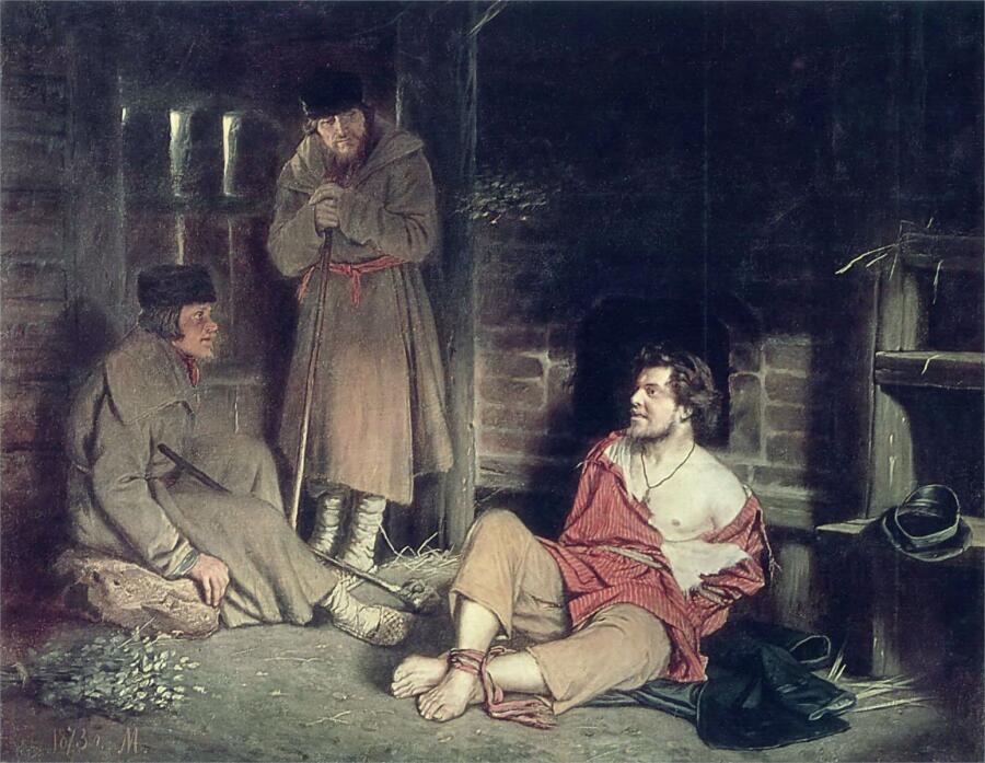 В. Г. Перов, «Отпетый», 1873 г.