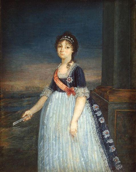 Неизвестный художник, «Великая княгиня Анна Федоровна», 1799 г.