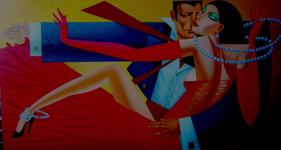 Леонид Пронченко, «Танго в красном»