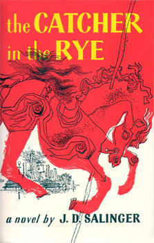 Обложка первого американского издания «Над пропастью во ржи»