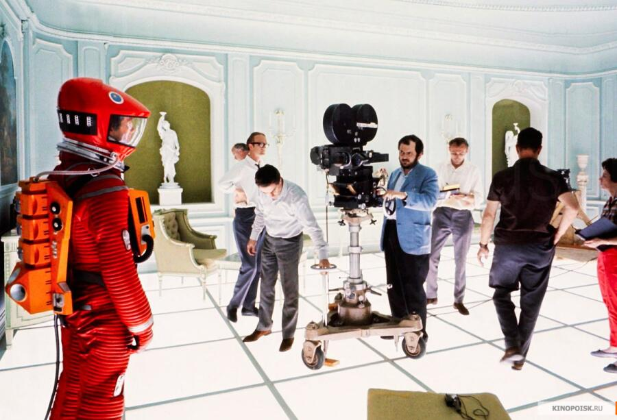 Съемки фильма «2001 год: Космическая одиссея»
