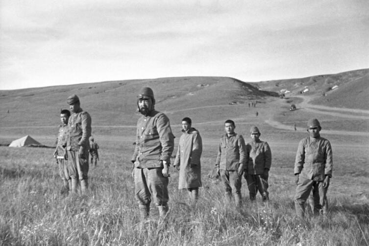 Японские солдаты, попавшие в советский плен в ходе боев на Халхин-Голе