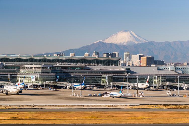 Международный аэропорт в Токио